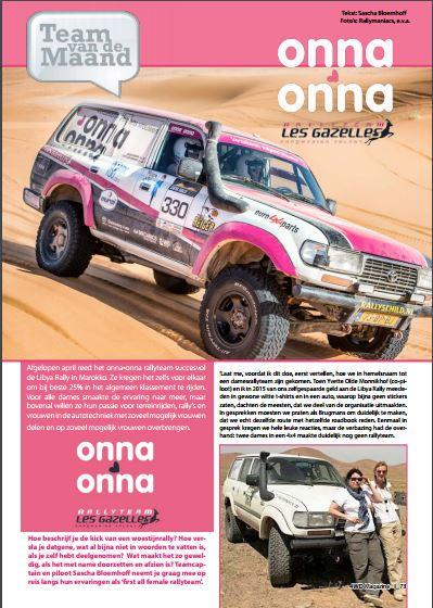160815 4WD Team van de maand 1
